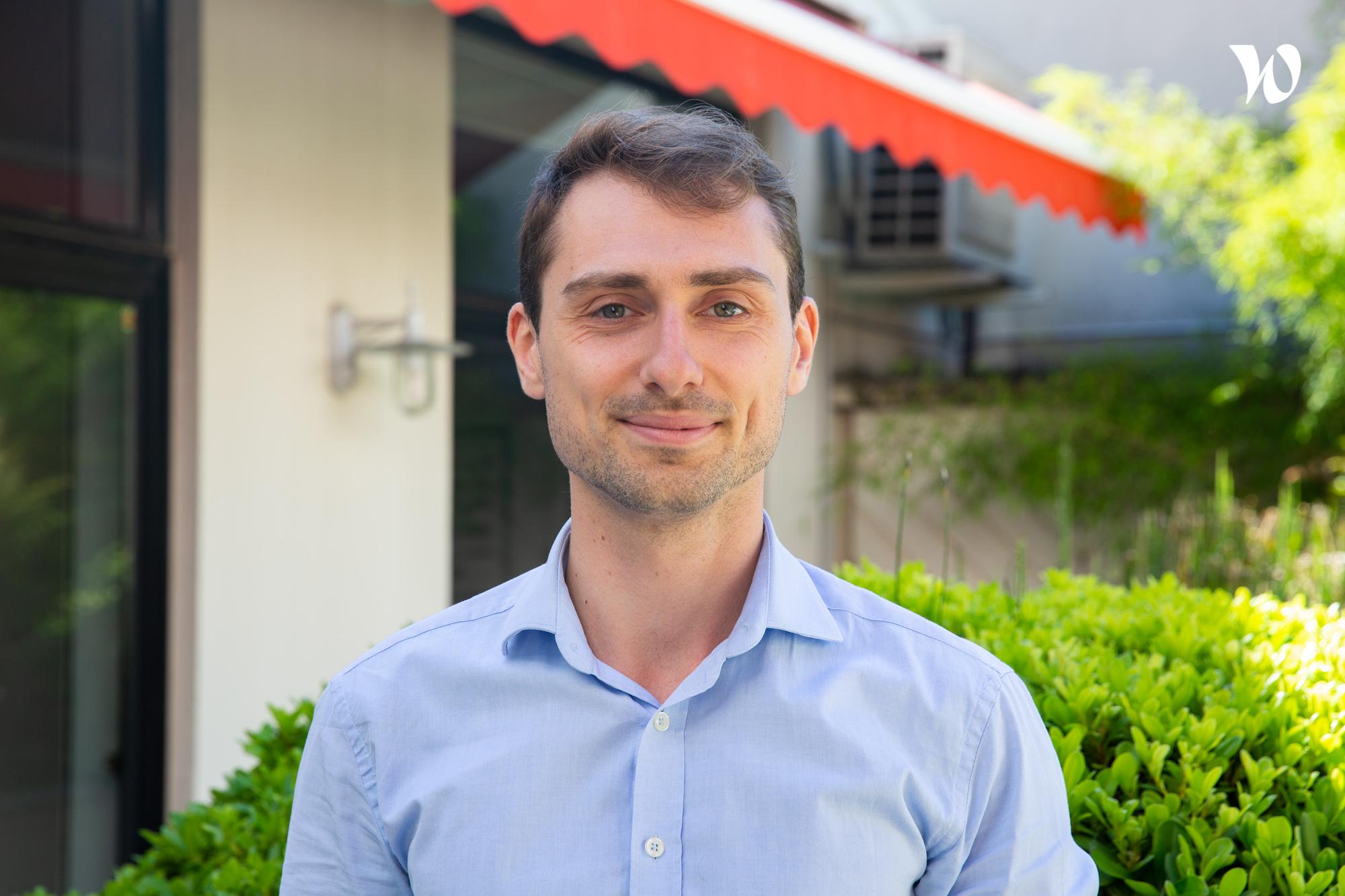 Mathieu, Data analyste